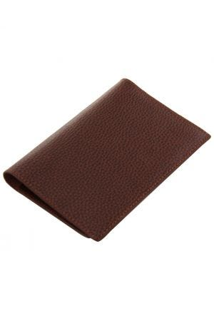 Laurige Leather Passport & Travel Documents Holder - Chocolate