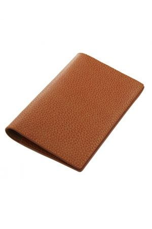 Laurige Leather Passport & Travel Documents Holder - Tan