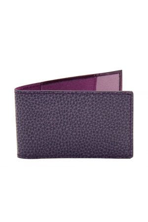 Laurige Travel Card Holder - Aubergine