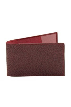 Laurige Travel Card Holder - Burgundy