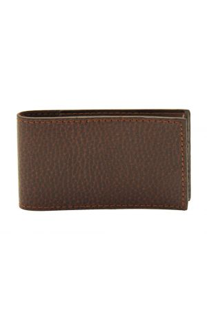 Laurige Travel Card Holder - Chocolate Brown