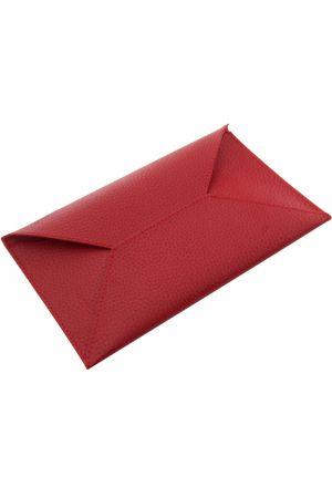 Laurige Leather Travel Envelope - Red