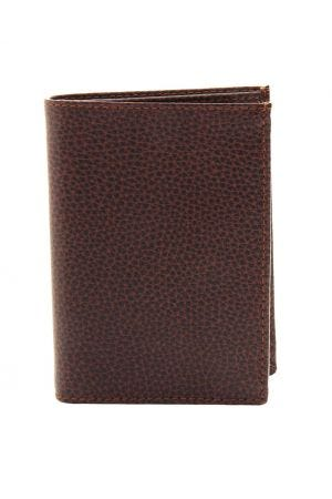 Laurige European Leather Wallet - Chocolate Brown