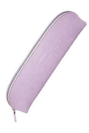 Laurige Leather Pencil Case - Pastel Lilac