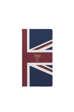 Letts Icon Slim Pocket 2021 Union Jack Diary - Week to View