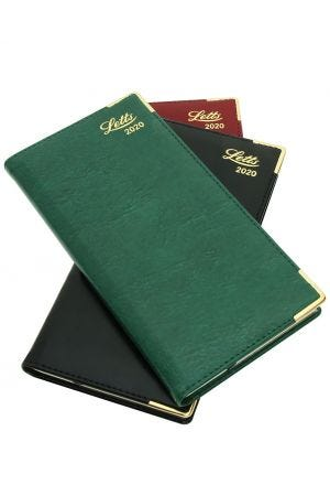 Letts Lexicon Slim 2020 Diary - Week to View with Appointments - Landscape