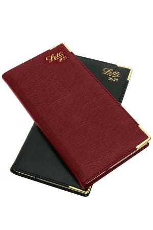Letts Lexicon Slim 2021 Diary - Week to View with Appointments - Landscape