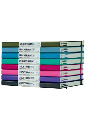 Leuchtturm1917 Medium Hard Cover Notebook - Plain Paper