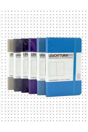 Leuchtturm1917 Pocket Hard Cover Notebook - Dotted Paper