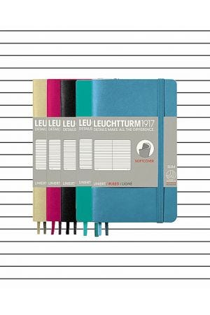 Leuchtturm1917 Pocket Soft Cover Notebook - Lined Paper