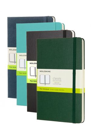 Moleskine Hard Cover Large Notebook - Plain
