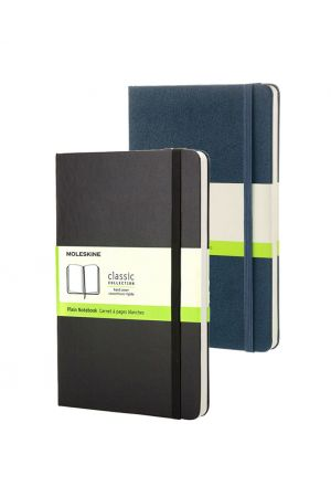 Moleskine Hard Cover Medium Notebook - Plain