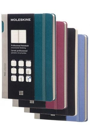 Moleskine Extra Large Professional Notebook