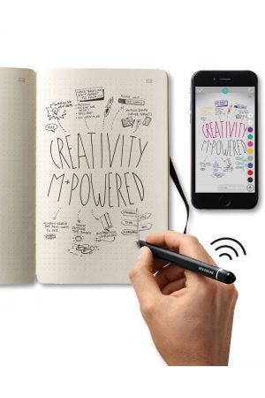 Moleskine Smart Writing Set - Digital Pen & Notebook