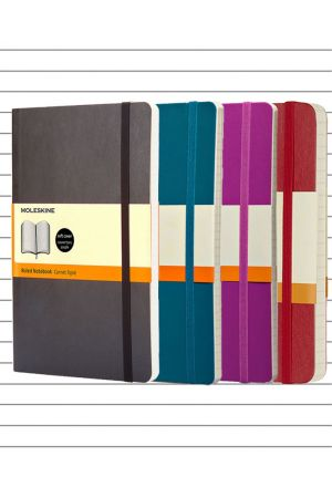 Moleskine Soft Cover Large Notebook - Lined