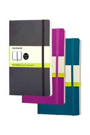 Moleskine Soft Cover Large Notebook - Plain