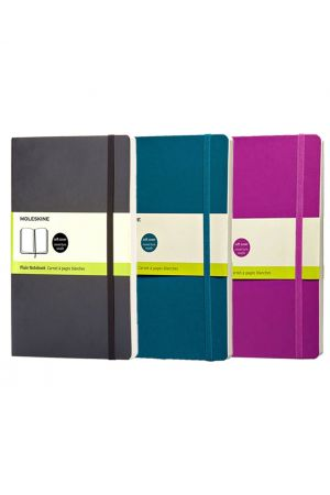 Moleskine Soft Cover Pocket Notebook - Plain
