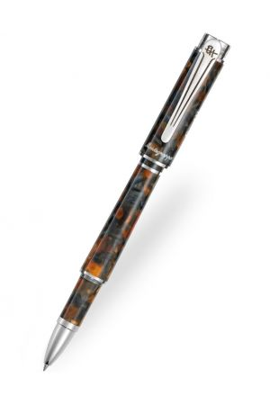 Montegrappa Ernest Hemingway Novel Amber Grey Rollerball Pen