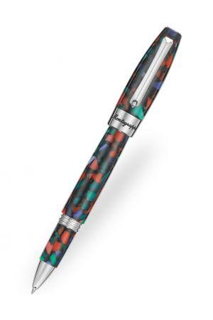 Montegrappa Fortuna Mosaico Aurora Borealis Rollerball Pen