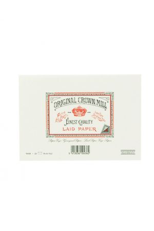 Original Crown Mill Laid Paper C6 Lined Envelopes - White