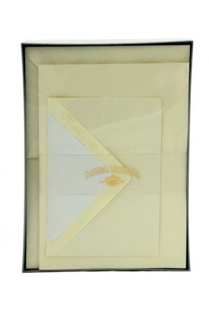 Original Crown Mill Laid Paper A5 Writing Set - Cream