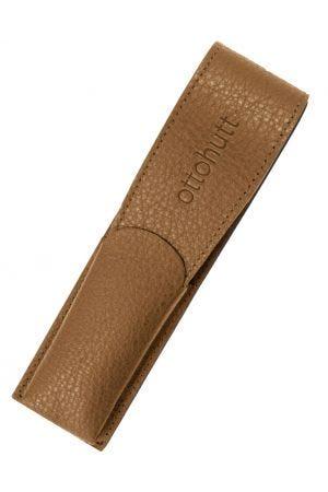Otto Hutt Leather 2 Pen Case - Tan