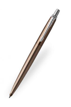Parker Jotter Premium Carlisle Brown Pinstripe Ballpoint Pen