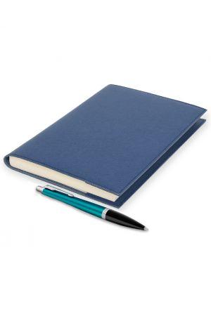 Parker Urban Vibrant Blue Ballpoint Pen & Palmi Large Leather Journal