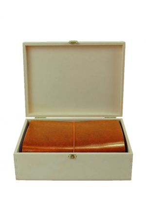 Paper Republic Grand Voyageur Leather Travel Notebook Starter Kit - Cognac