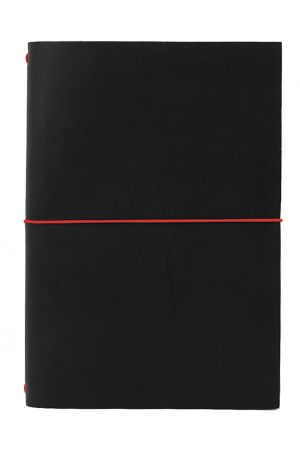 Paper Republic Grand Voyageur XL Leather Travel Notebook - Black