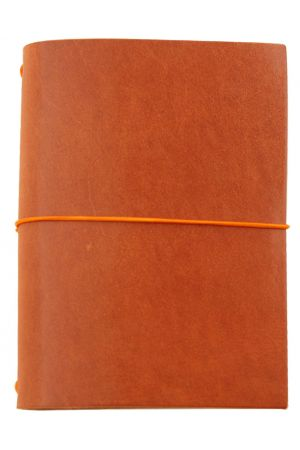 Paper Republic Grand Voyageur XL Leather Travel Notebook - Cognac