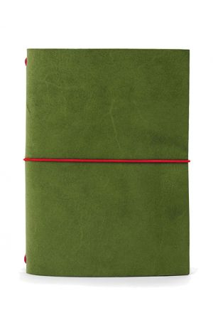 Paper Republic Grand Voyageur Leather Travel Notebook - Green
