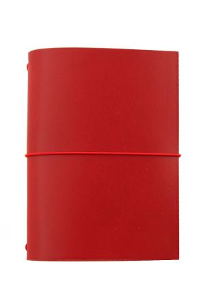 Paper Republic Grand Voyageur Leather Travel Notebook - Red