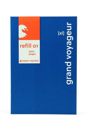 Paper Republic Refill 01 - XL - Plain Pages (Pack of 2)