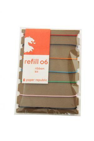 Paper Republic Refill 06 - Passport - Ribbon Kit