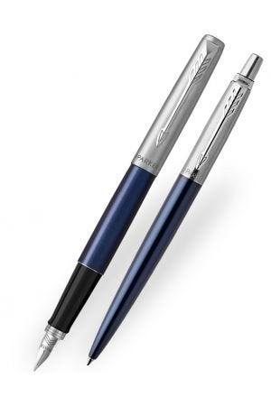 Parker Jotter Royal Blue Fountain & Ballpoint Pen Set