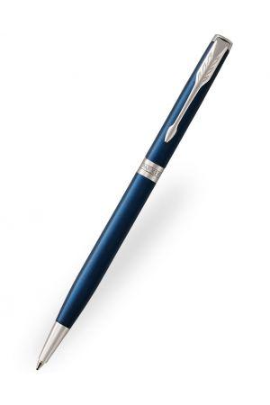 Parker Sonnet Blue Lacquer Slim Ballpoint Pen