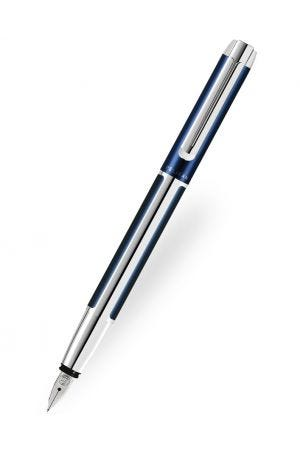 Pelikan Pura P40 Blue-Silver Fountain Pen