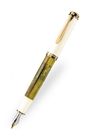 Pelikan Souverän M400 Tortoiseshell White Fountain Pen