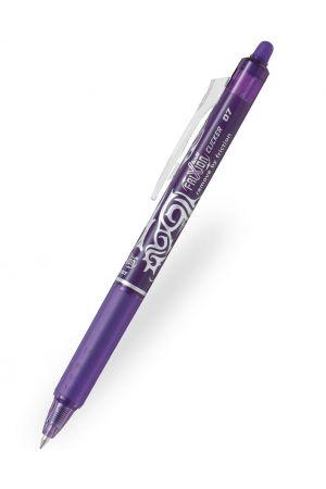 Pilot FriXion Clicker Erasable Ballpoint Pen - Violet