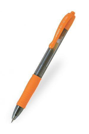 Pilot G-2 07 Gel Ink Ballpoint Pen - Orange