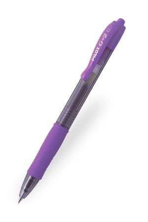 Pilot G-2 07 Gel Ink Ballpoint Pen - Violet