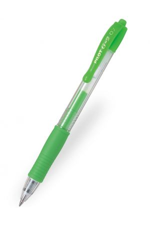 Pilot G-2 07 Neon Gel Ink Ballpoint Pen - Neon Green