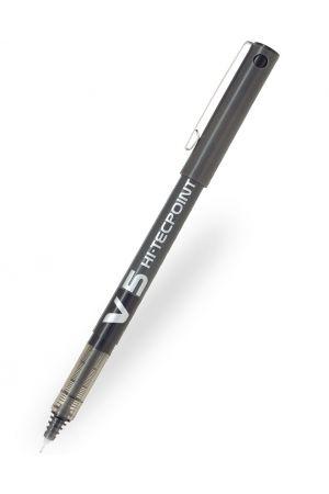 Pilot V5 Hi-Tecpoint Rollerball Pen - Black