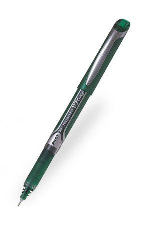Pilot V7 Grip Hi-Tecpoint Rollerball Pen - Green