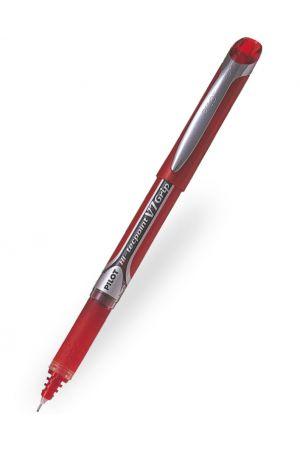 Pilot V7 Grip Hi-Tecpoint Rollerball Pen - Red