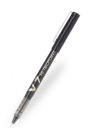 Pilot V7 Hi-tecpoint Rollerball Pen - Black