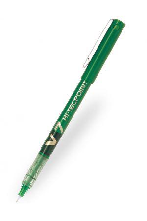 Pilot V7 Hi-Tecpoint Rollerball Pen - Green