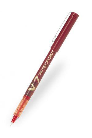 Pilot V7 Hi-Tecpoint Rollerball Pen - Red
