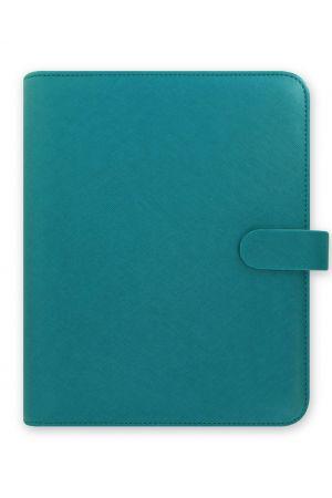 Filofax Saffiano A5 Organiser - Aquamarine